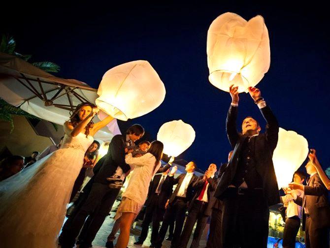 Lanterne Volanti Matrimonio - Sposarsi in Calabria