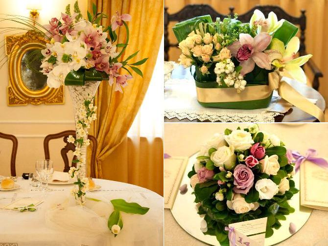 Allestimenti floreali tavoli matrimonio sposarsi in calabria for Addobbi per promessa di matrimonio