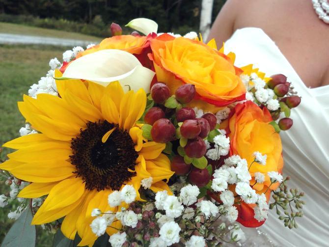 Girasoli Finti Matrimonio : Girasoli fiori matrimonio sposarsi in calabria