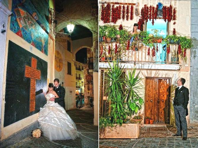 Matrimonio  a Diamante - Le Chiese